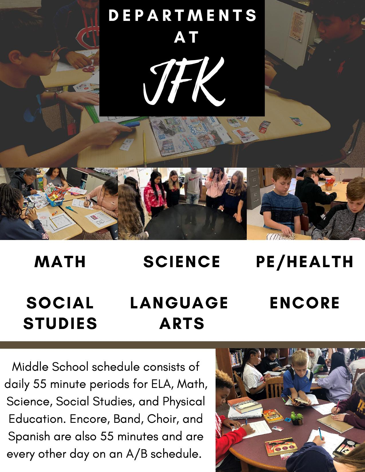 John F. Kennedy Middle School / Welcome